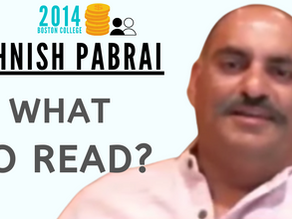 Collection: Mohnish Pabrai - #51 'What To Read?'