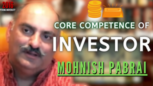 Collection: Mohnish Pabrai - #95 'Core Competence Of Investor'