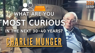 Collection: Charlie Munger - #117 'What Are You Most Curious In The Next 30-40 Years?'