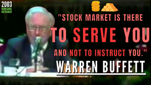 Collection: Warren Buffett - #276 'Stock Market Is There To Serve You And Not To Instruct You.'