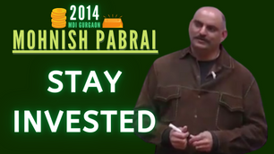Collection: Mohnish Pabrai - #63 'Stay Invested'