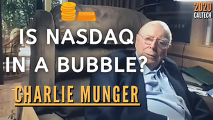 Collection: Charlie Munger - #111 'Is NASDAQ In a Bubble?'