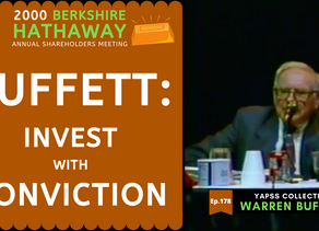 Collection: Warren Buffett - #178 'Invest With Conviction'