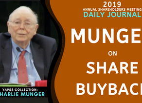 Collection: Charlie Munger - #55 'Share Buyback'