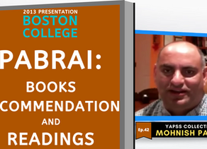 Collection: Mohnish Pabrai - #42 'Books Recommendation and Readings'