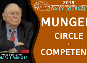 Collection: Charlie Munger - #68 'Circle Of Competence'