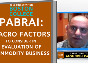 Collection: Mohnish Pabrai - #36 'Macro Factors To Consider In Evaluation of Commodity Business'