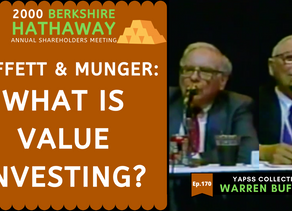 Collection: Warren Buffett - #170 'What is Value Investing?'