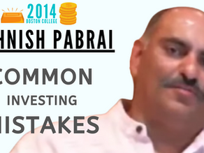 Collection: Mohnish Pabrai - #56 'Common Investing Mistakes'