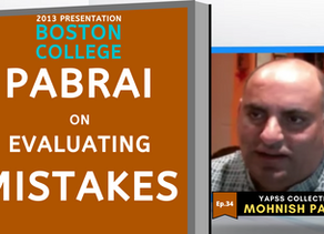Collection: Mohnish Pabrai - #34 'Evaluating Mistakes'