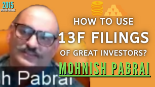 Collection: Mohnish Pabrai - #76 'How To Use 13F Filings of Great Investors?'