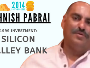 Collection: Mohnish Pabrai - #54 'Investment: Silicon Valley Bank'