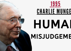Collection: Charlie Munger - #70 'Human Misjudgement'