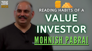 Collection: Mohnish Pabrai - #116 'Reading Habits of a Value Investor'