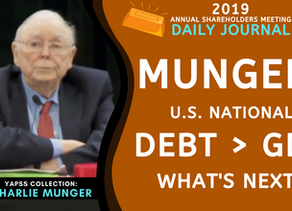 Collection: Charlie Munger - #53 'U.S. National Debt > GDP, What's Next?'