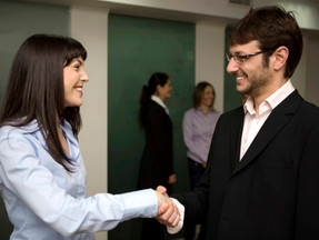 First impressions: the magic of a good handshake
