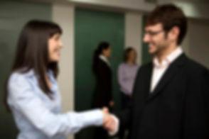 Smiling Handshake