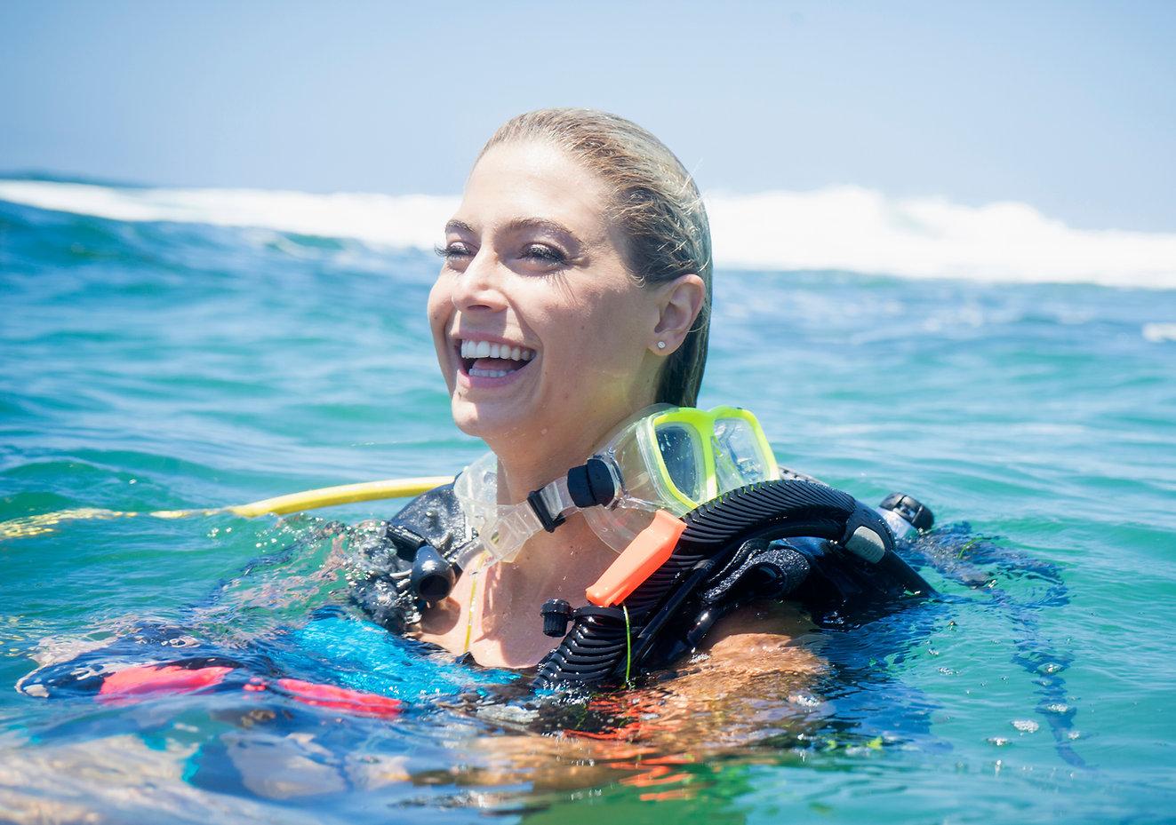 Happy Scuba Diver