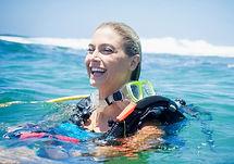 Szczęśliwy Scuba Diver
