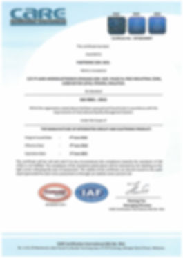 Final ISO9001 2015-Fabtronic Certificate