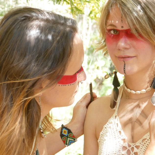Healing make up yoga tribu ardeche .JPG