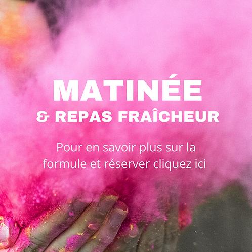 Holi Matinée & repas fraîcheur