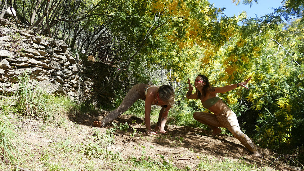 Mareches primitives yoga tribu ardeche l