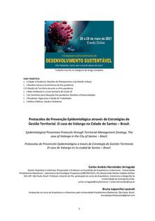 Protocolos de Prevenção Epidemiológica a