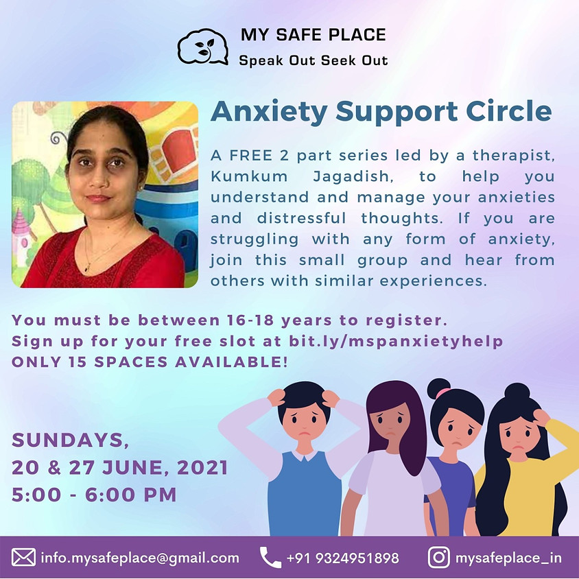 Free Anxiety Group Therapy
