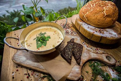 Финский белый рыбный суп