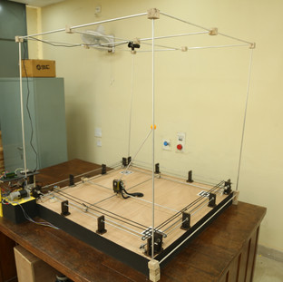 Hardware Setup Dual-Axis Inverted Pendulum