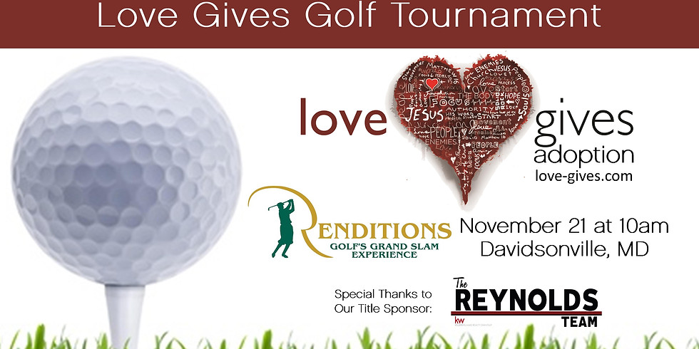 Love Gives Golf Tournament