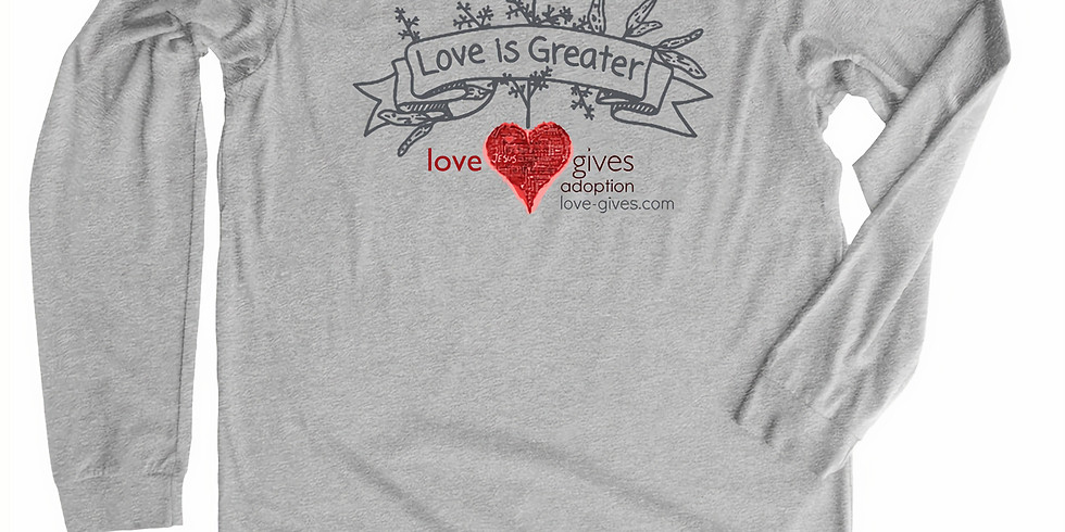 Love Gives Adoption Apparel Fundraiser
