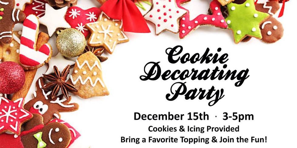 Cookie Decorating Event