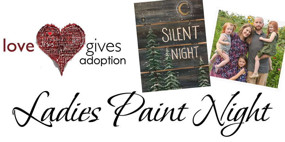 Love Gives Ladies Paint Night: Christmas Edition