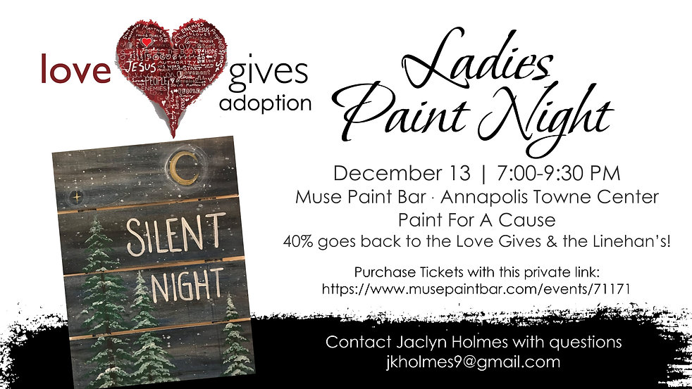 Love Gives Annapolis Ladies Paint Night