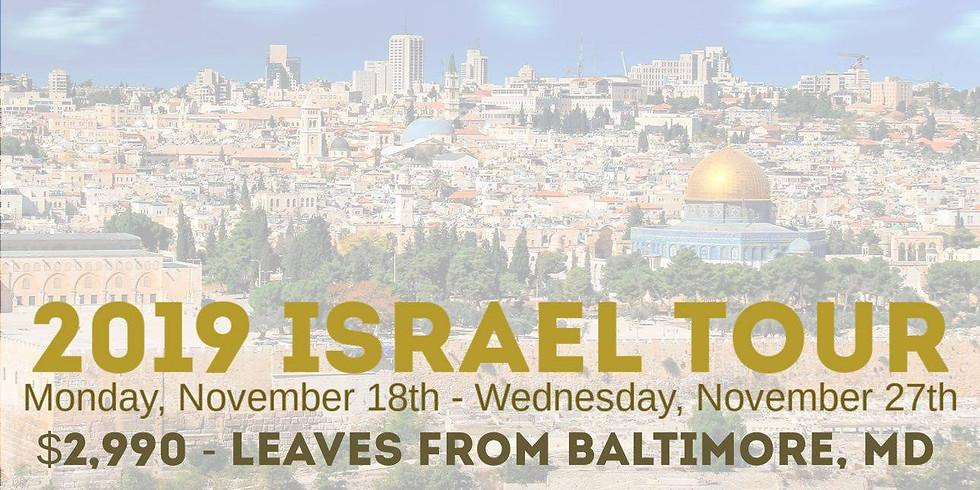 Israel Tour Interest Meeting