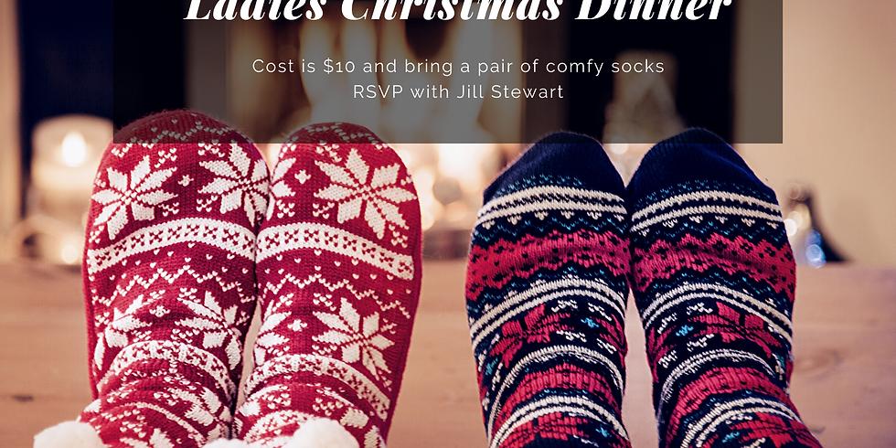 CP Women's Christmas Dinner, Devotional & Comfy Sock Exchange