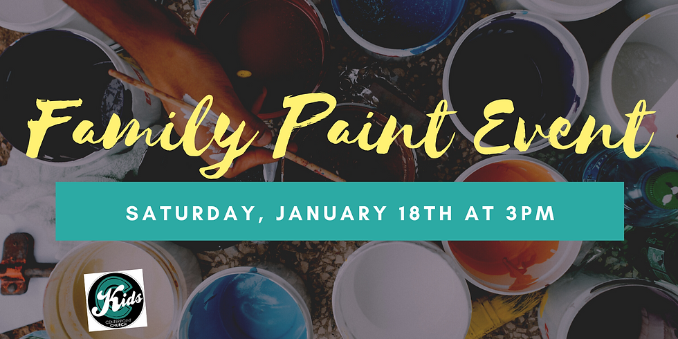 Family Paint Event