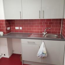 Warehouse kitchen refurbishment
