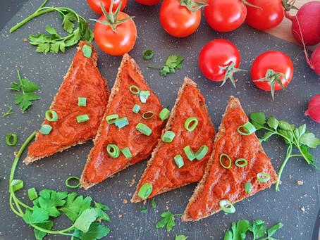 Roasted red pepper spread - Sült paprikakrém