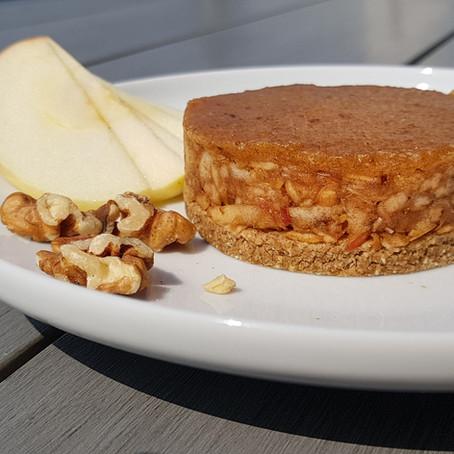No Bake Apple Cake / Sütés Nélküli Mindenmentes Almatorta
