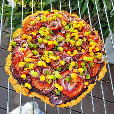 Ropogós Vöröslencse Pizza