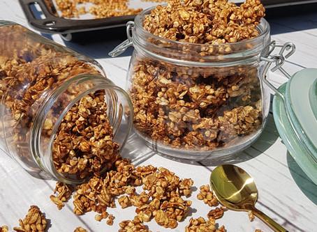 Oil-free Crunchy Granola - Olajmentes Ropogós Granola
