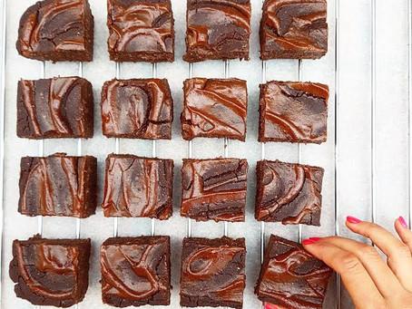 Caramel Brownies / Karamellás Brownie