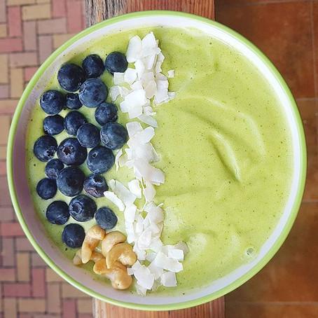 Reggeli Vaníliás Zöld Smoothie