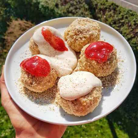 """Sweet millet balls /Kölesgombóc - A vegán """"túrógombóc"""""""