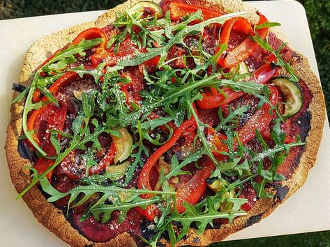 "Glutenfree crunchy ""pizza"" / Gluténmentes ropogós ""pizza"""