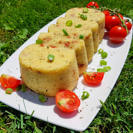 Aszalt paradicsomos polenta