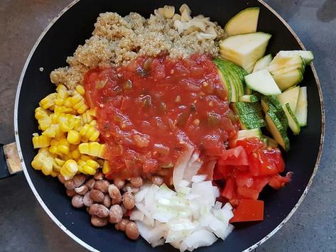 Mexikói Zöldséges Quinoa